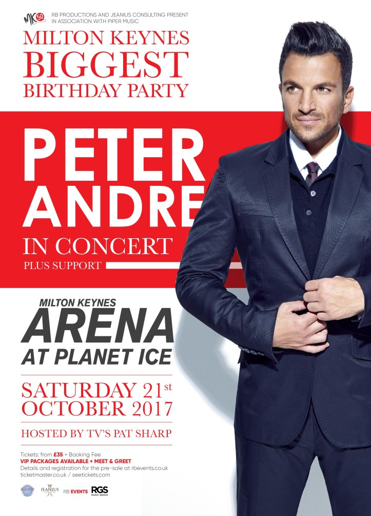 PETER ANDRE MK50 POSTER