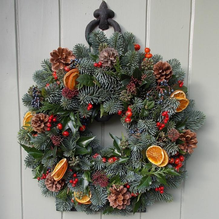 Xmas wreath by Fieldgate Flowers.jpg